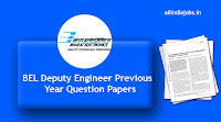 BEL Deputy Engineer Previous Year Question Papers