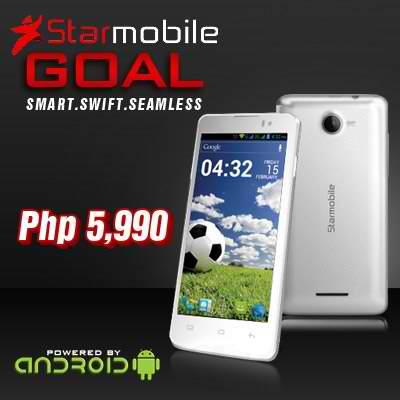 Starmobile Goal and Starmobile Hit mobile phones (Price, Specs and Features)