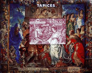 TAPICES S. XVII. LA BODA DE ZENOBA Y ODONATO
