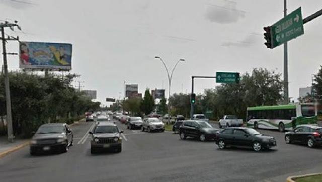 Autos en Toluca, puentes