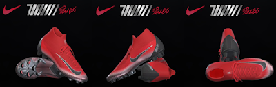 PES 2018 / PES 2017 Nike Superfly VI CR7 Final Chapter 7 by Tisera09