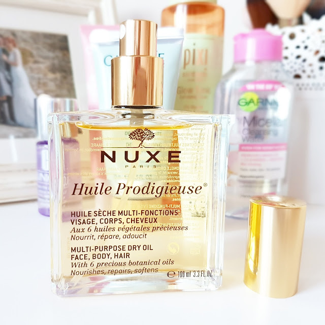 NUXE Huile Prodigieuse | Multi-Purpose Dry Oil Spray For Face, Body & Hair