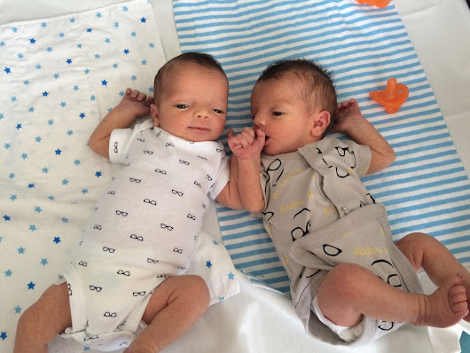 It's time to start writing about life with twins.