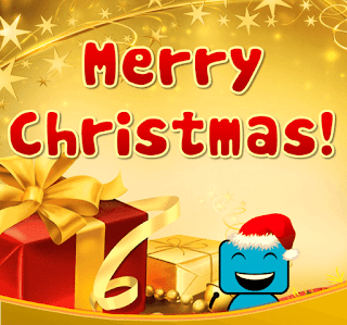 Happy Christmas DP Image