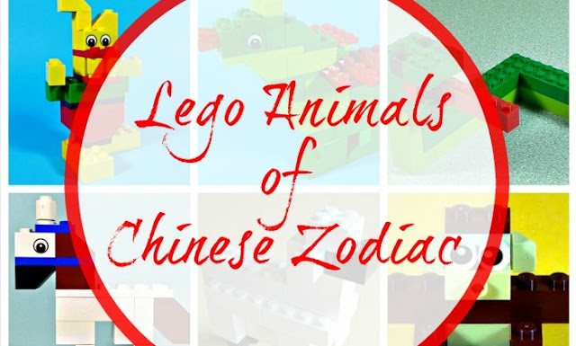 Chinese Zodiac In Lego (with video instructions)
