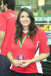 Actress Sanghavi Stills at CBL 2016 (Celebrity Badminton League) Event  0002