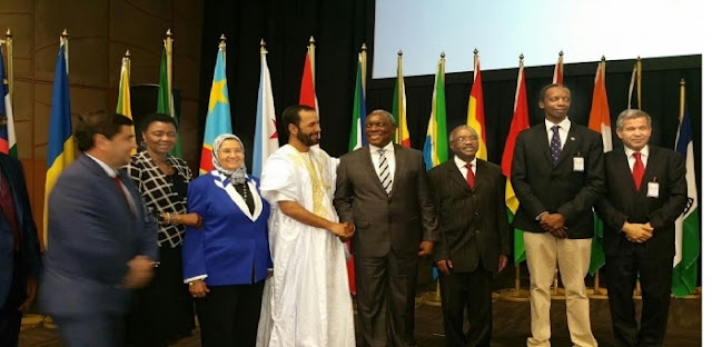 SADR takes part at 5th African Internet Governance Forum