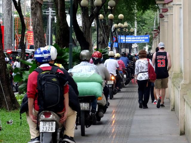 Saigon Traffic Motorbike