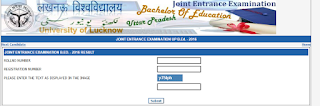 UP JEE B.Ed. Result