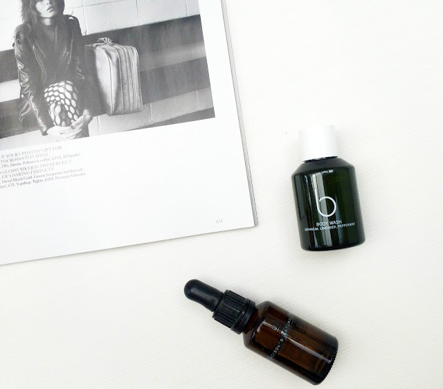 Dr Jacksons Face Oil and Bamford Hand and body wash the boring skincare