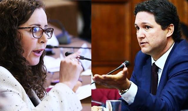 Rosa Bartra dijo a Daniel Salaverry que tiene escaso conocimiento jurídico