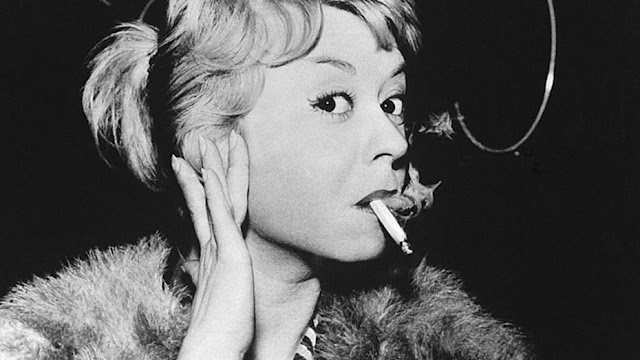 Giulietta Masina as Cabiria in Fellini's Nights of Cabiria