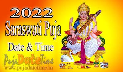 2022 Saraswati Puja Date & Time