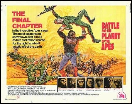 Batalla por el planeta de los simios, 1973
