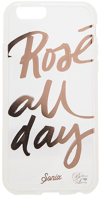 Brilliant Luxury ♦ Sonix 'Rose all day' hard acrylic snap on iPhone 6 case