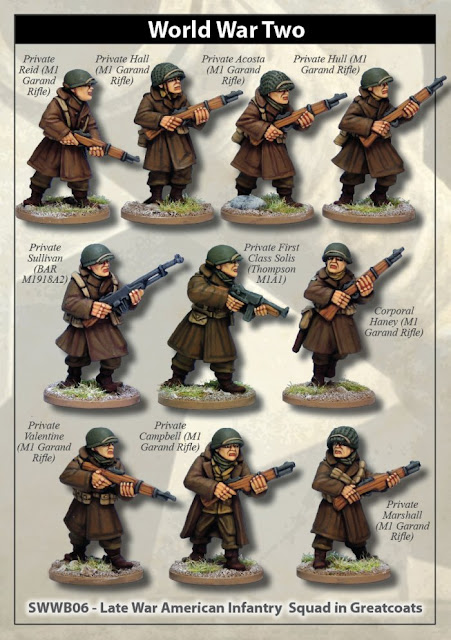 Artizan Design: US Infantry Squad in Greatcoats