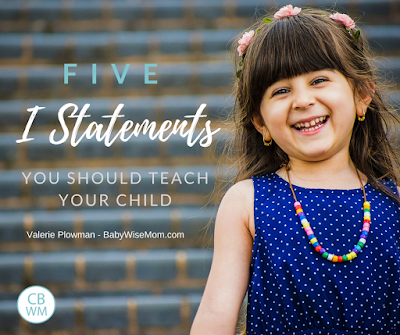 "5 ""I Statements"" To Teach Your Child 