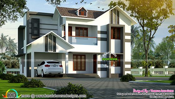4 BHK villa in 1850 sq-ft