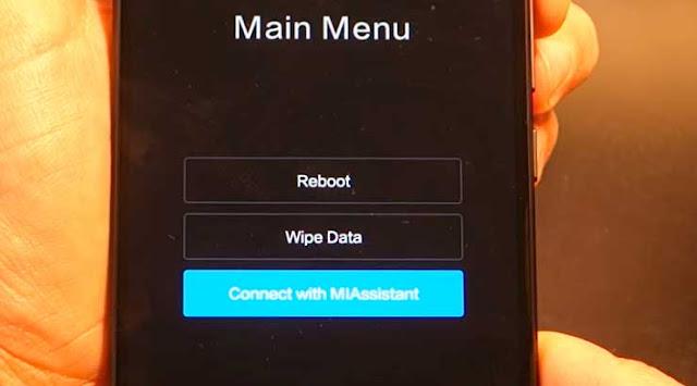 Restablecer un  Xiaomi MI 5X