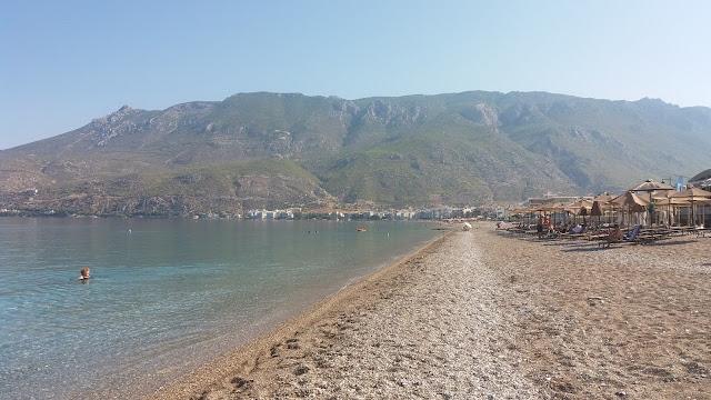 Loutraki beach, Greece Photo by Greeker than the Greeks