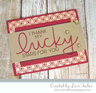 I Thank My Lucky Stars for You card-designed by Lori Tecler/Inking Aloud-stamps and dies from Concord & 9th