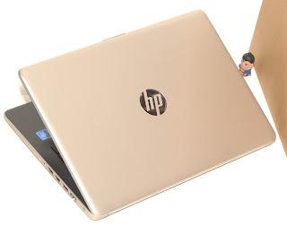 Laptop Baru HP 14-ck0011TU Gold di Malang
