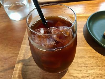 三軒茶屋のコーヒーライツのアイスコーヒー