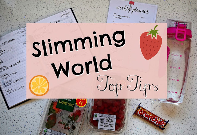 Slimming World Top Tips Jenna Suth