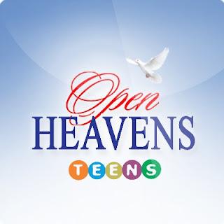 Open Heavens For TEENS: Friday 29 September 2017 by Pastor Adeboye - The Sure Refuge