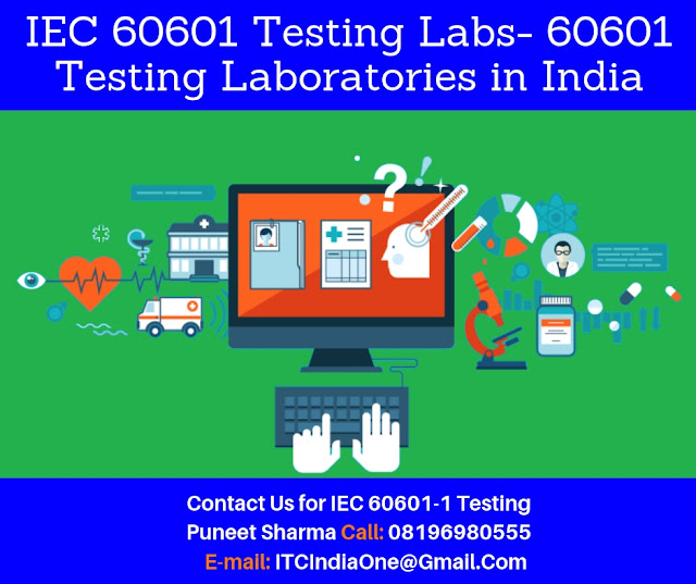 EN-IEC 60601 Testing Laboratories in India