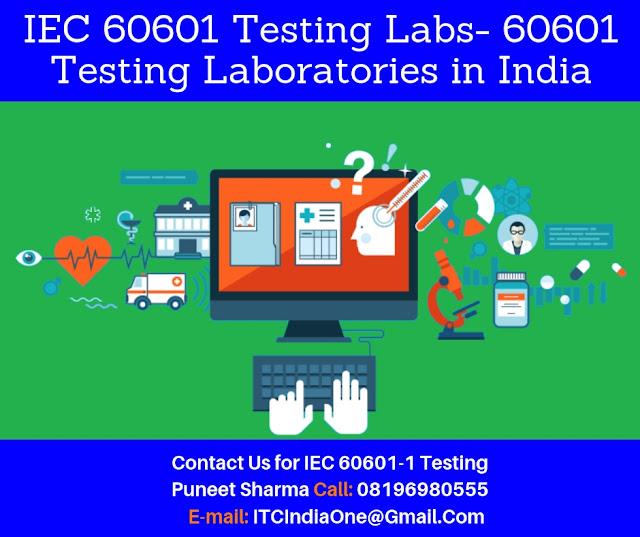 EN-IEC 60601 Testing Laboratories in India
