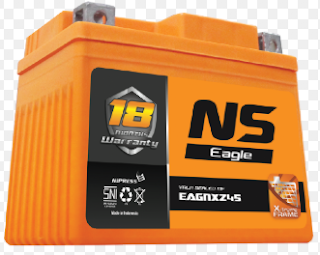 Harga Aki Motor Mio Baru dari NS Battery