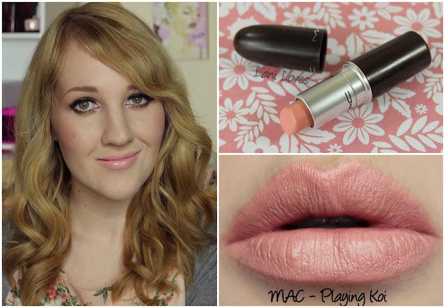 MAC Playing Koi lipstick swatch