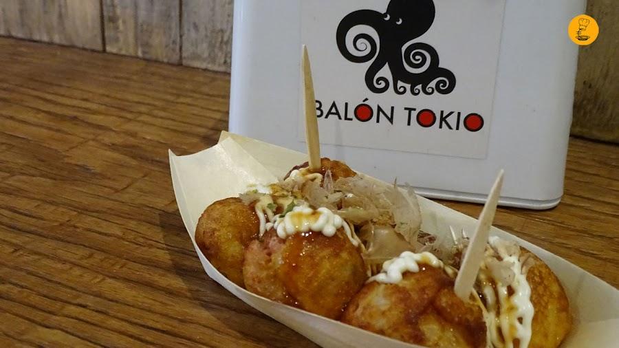Takoyakis en Balon Tokyo