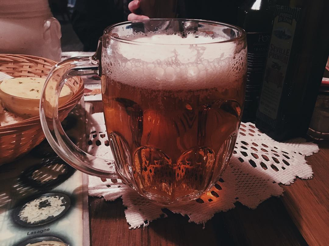 Czech beer in Prague