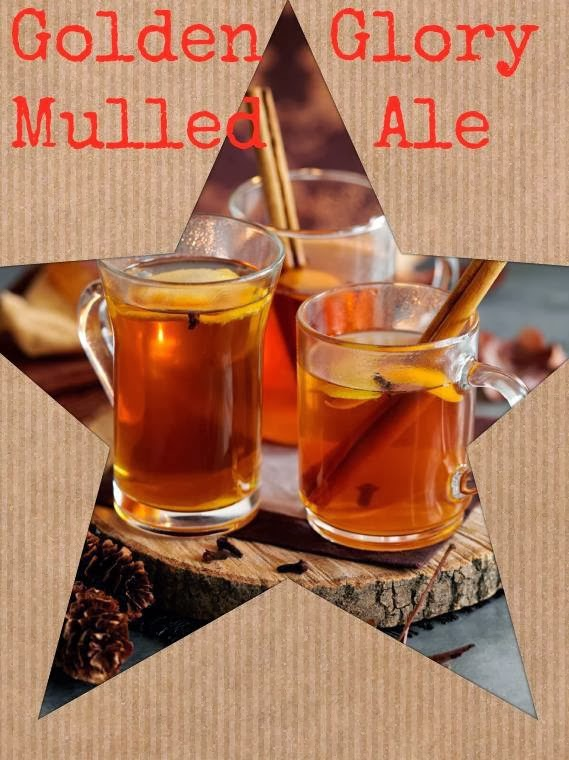 Golden Glory Mulled Ale: Christmas Drink Recipe