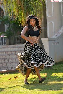 Hebah Patel in Spicy Black Choli and Ghagra HD Pics  012.jpg