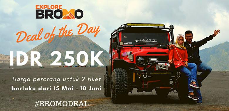 promo liburan lebaran 2019 Bromo via Malang setiap hari
