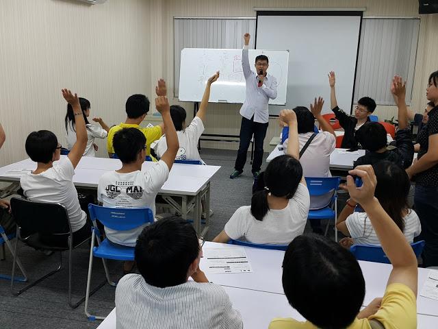 這堂課是JERRY親自出馬教學,希望在這教室可以帶動更多人氣,更多願意學習的好夥伴