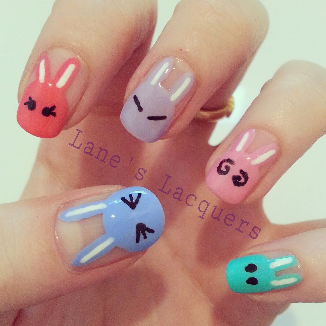Adorable Nail Art: Lane's Lacquers: Fingerfood Theme Buffet: For Scarlett