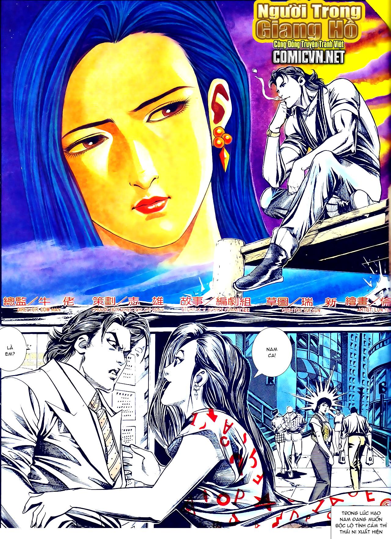 Người Trong Giang Hồ chapter 137: yêu nhất là ai trang 10