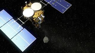 Japanese Spacecraft Hayabusa2 Probes Asteroid Ryugu