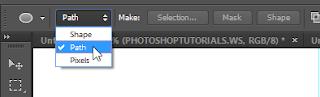 Cara Membuat Teks Lengkung di Photoshop 7