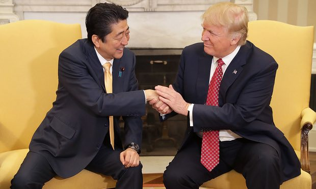 What does Donald Trump's handshake say about him?