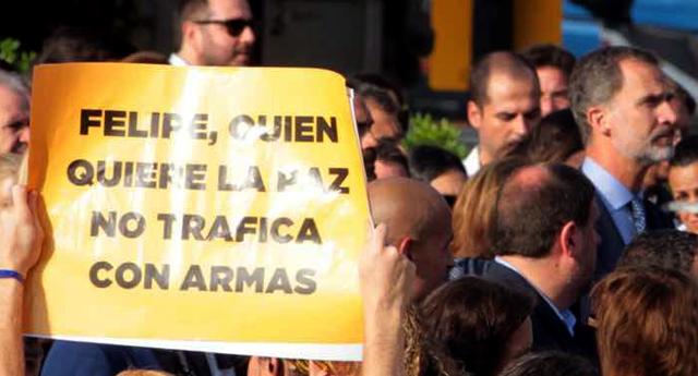 Barcelona repudia el terrorismo y el tráfico de armas con el reino Saudita