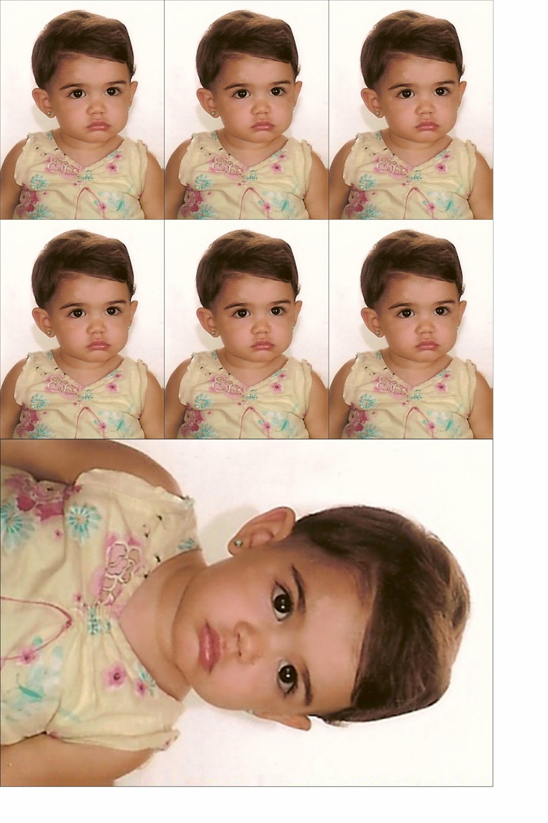 Aprendo Photoshop Foto Carnet Y Postal