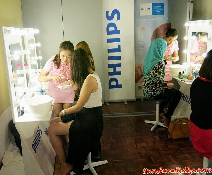 Philips VisaPure, VisaPure, Philips Visapure Beauty Pampering Session, Vila Manja, facial cleansing device