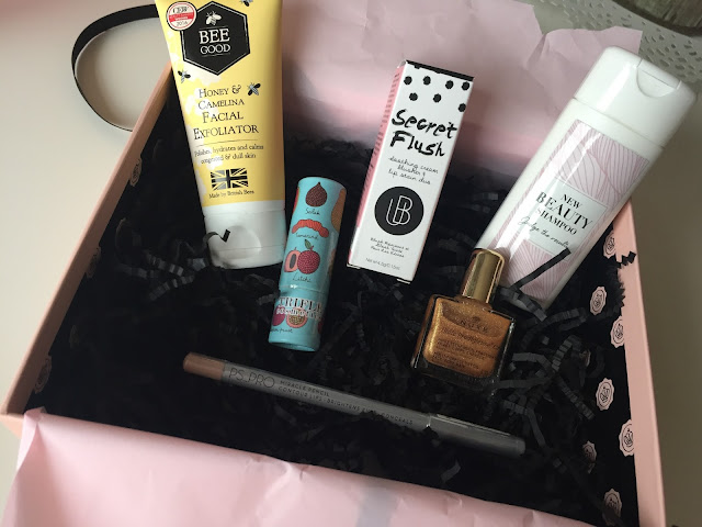glossybox october 2016