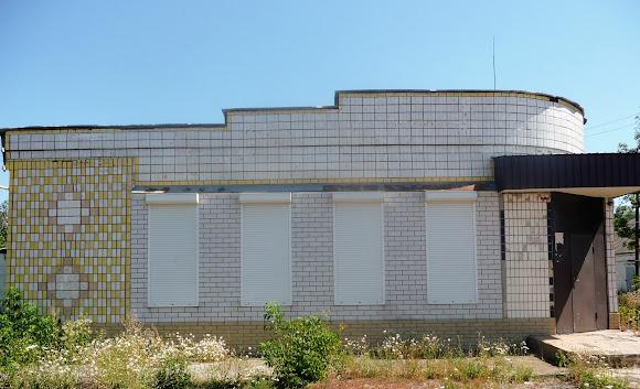 Васильковка. Район Низ. Улица Соборная. Магазины