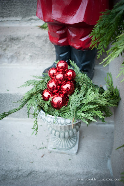 Christmas Front Door Decor Vintage Plus New Creates